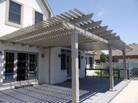 Attached Pergolas