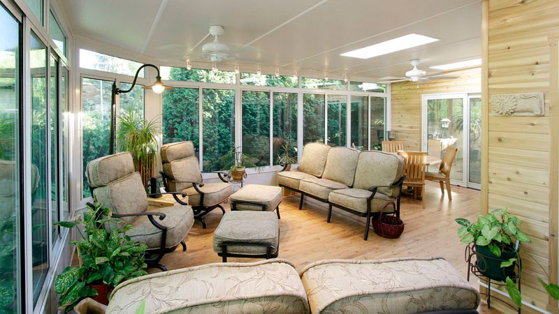US Patio Systems Studio Sunroom