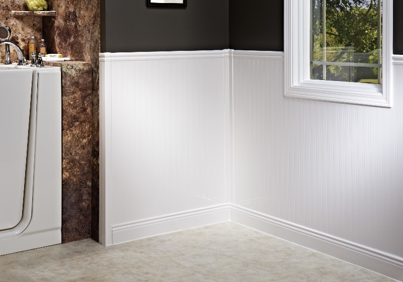 US Patio Systems Bathroom Wainscoting and Window Kits
